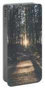 Woods Sunset Portable Battery Charger