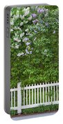 Woodstock Village Lilacs Portable Battery Charger