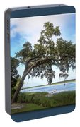 Woodstorks At Oak Grove Island Portable Battery Charger