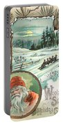 Woolson Spice Company Christmas Card Portable Battery Charger