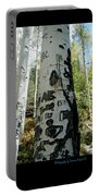Words Written In The Trees 1 Portable Battery Charger
