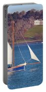 Working Boat At Trelissick Cornwall Portable Battery Charger
