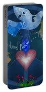 World Healing Inspirational Portable Battery Charger