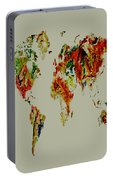World Map 02a Portable Battery Charger