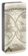 World Map - 1842 Portable Battery Charger