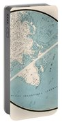 World Map - 1857 Portable Battery Charger
