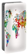 World Map 6b Portable Battery Charger