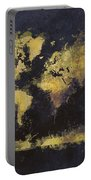 World Map Art 65 Portable Battery Charger