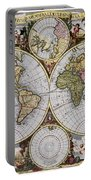 World Map, C1690 Portable Battery Charger
