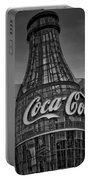 World Of Coca Cola Bw Portable Battery Charger