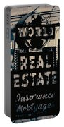World Real Estate Chicago Portable Battery Charger