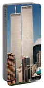 World Trade Center 1990 Portable Battery Charger