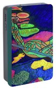 World Turle Knight Of Swords Portable Battery Charger