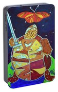 World Turtle King Of Swords Portable Battery Charger