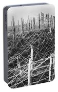 World War I Barbed Wire Portable Battery Charger