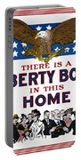 World War I Liberty Bond Ad Portable Battery Charger by Granger