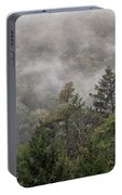 Worlds End State Park Fog Portable Battery Charger