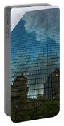 World's Largest Canvas John Hancock Tower Boston Ma Portable Battery Charger