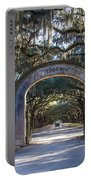 Wormsloe Gates Portable Battery Charger