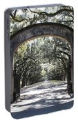 Wormsloe Plantation Gate Portable Battery Charger