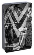 Worth Ave Reflections 0487 Portable Battery Charger