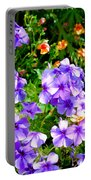 Wp Floral Study 2 2014 Portable Battery Charger