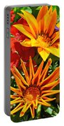 Wp Floral Study 5 2014 Portable Battery Charger