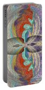Wrap Oil Art Painting  Portable Battery Charger