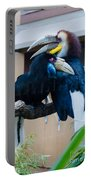 Wreathed Hornbills Portable Battery Charger