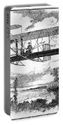 Wright Brothers Plane Portable Battery Charger