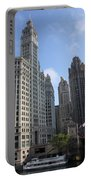 Wrigley And Tribune Tower Portable Battery Charger