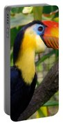 Wrinkled Hornbill Portable Battery Charger