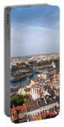 Wroclaw Cityscape In Poland Portable Battery Charger