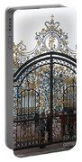 Wrought Iron Gate Portable Battery Charger