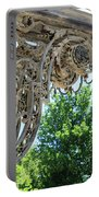 Wrought Iron Scroll Portable Battery Charger