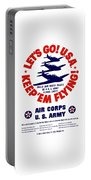 Us Army Air Corps - Ww2 Portable Battery Charger