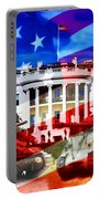 Ww2 Usa White House Portable Battery Charger