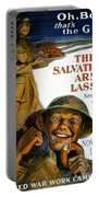 Wwi Poster Portable Battery Charger