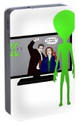 X Files Portable Battery Charger