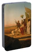 Xerxes At The Hellespont Portable Battery Charger