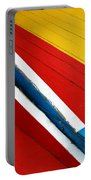 Xochimilco Boat Abstract 1 Portable Battery Charger