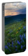 Yakima River Canyon Sunset Portable Battery Charger
