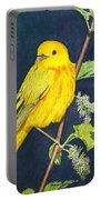 Yelllow Warbler Portable Battery Charger