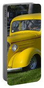 Yellow 30's Chevy Pickup Portable Battery Charger