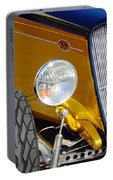 Yellow And Blue Hot Rod Headlight Portable Battery Charger