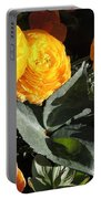Yellow And Orange Marigolds Portable Battery Charger