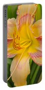 Yellow And Red Lily Portable Battery Charger
