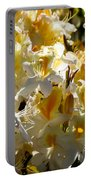Yellow And White Azaleas Portable Battery Charger