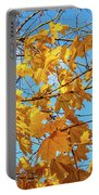 Yellow Autumn Leaves 2 Portable Battery Charger