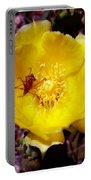 Yellow Blossom  Portable Battery Charger